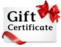 Maintenance for 1 Year Gift Certificates