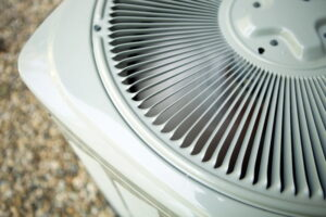 top-view-of-fan-in-outdoor-ac-condenser-unit